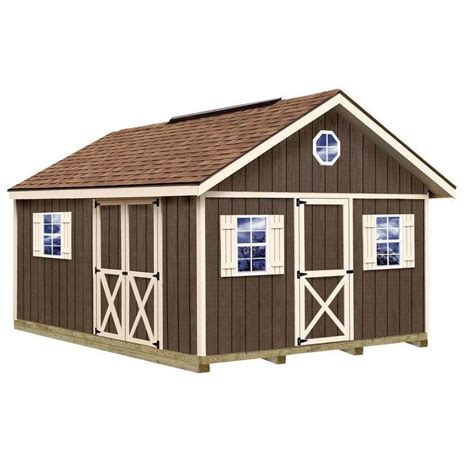 shop best barns common 12 ft x 16 ft interior