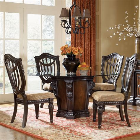 Fairmont Dining Room Sets fairmont designs grand estates 5 piece dining table and