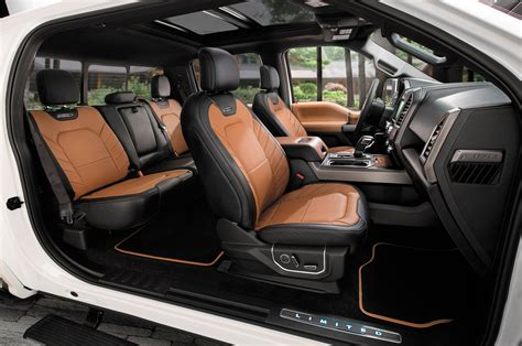 Ford Upholstery by 2016 Roush Ford F 150 Sc Review