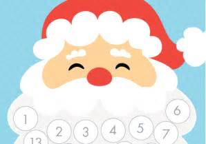 Beard christmas countdown advent calendar free printable tomfo