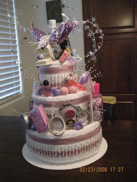Bridal Shower Idea Towel Wedding Cake by Bridal Shower Towel Cake Ideas