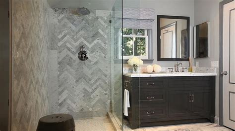 jeff lewis bathroom design herringbone backsplash contemporary bathroom jeff
