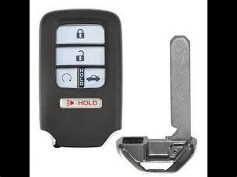honda key fob battery replacement change civic accord crv oydessy fit smart entry key