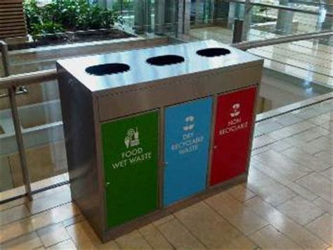 postwink's best selling recycle bin for public spaces