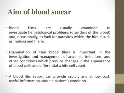 cytology report sle peripheral blood smear report sle peripheral blood