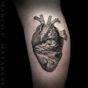 tattoo mountain blackwork on instagram