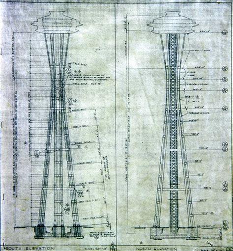 Blueprint Seattle Space Needle Blueprints Bing Images