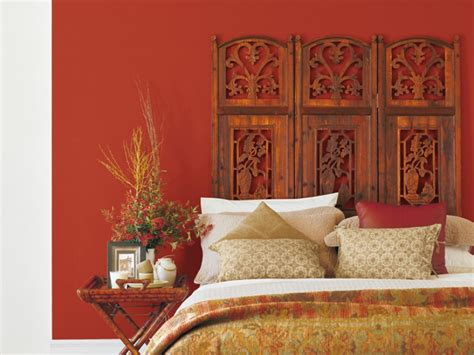 red bedroom inspirations paint