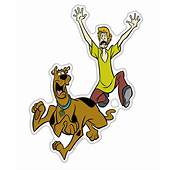 Running Scooby Doo Shaggy Auto Decal Domed Character