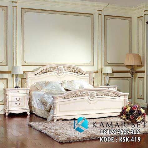 Tempat Tidur Elegan tempat tidur ukir elegan ksk 419 kamar set kamar set