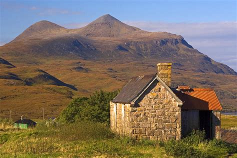 highland cottage highland cottage at elphin photograph by mckinlay