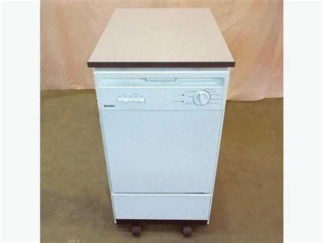 Portable Dishwasher In Apartment Kenmore Portable Apartment Sized Dishwasher Needs New