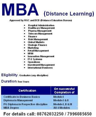 Mba Distance Education In Chennai by Icfai Distance Mba Education Hubli Management Course In