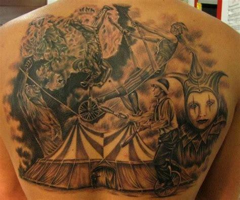 40 entertaining circus tattoos tattoodo