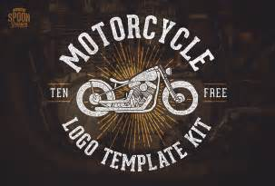motorcycle graphics templates free motorcycle vector graphics logo template kit