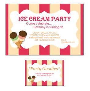kid s birthday party ideas ice cream social birthday party