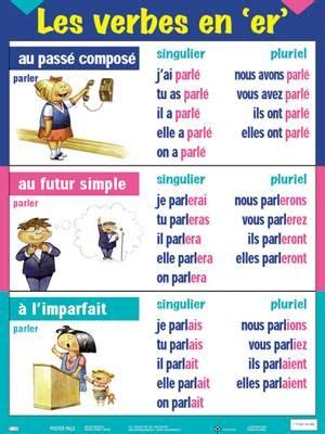 verbe pattern en francais les verbes en er fle les verbes pinterest