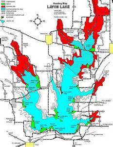 lavon lake map