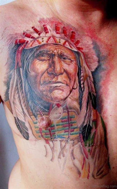 chest tattoo native american 98 magnificent chest tattoo