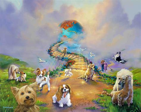 dogs go to heaven all dogs go to heaven 4 soft sky jim warren studios
