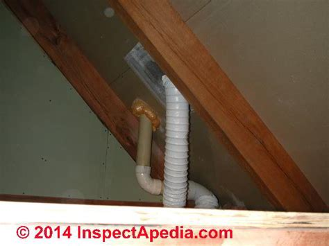 vent bathroom fan through roof bathroom exhaust fan terminations at walls roofs bath vent duct closed screened