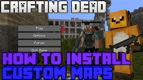 crafting dead map how to install a custom maps into the crafting dead mod