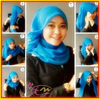 tutorial hijab simple kantor tutorial hijab segi empat simple untuk pergi ke kantor