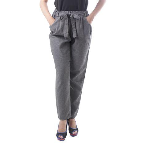 Celana Pita celana panjang jogger pita 6 warna bahan cotton polyester cotton twill adore elevenia