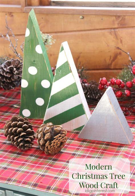 modern christmas tree wood craft i dig pinterest