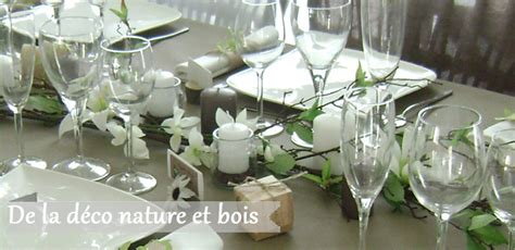 Decoration Table Nature by Decoration Table Mariage Nature