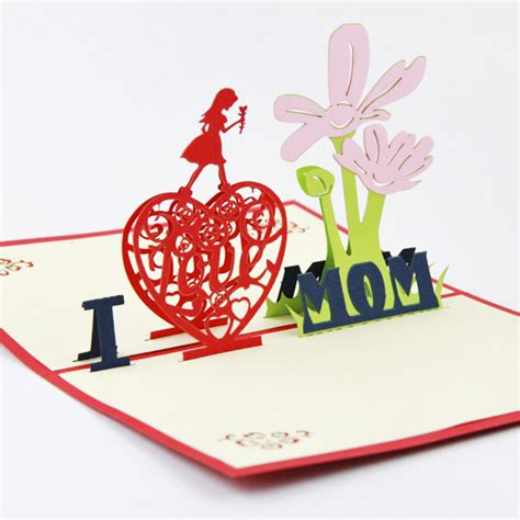 latest mother s day cards handmade cards for mother happy mother s day aliexpress com buy mothers day card 3d pop up greeting