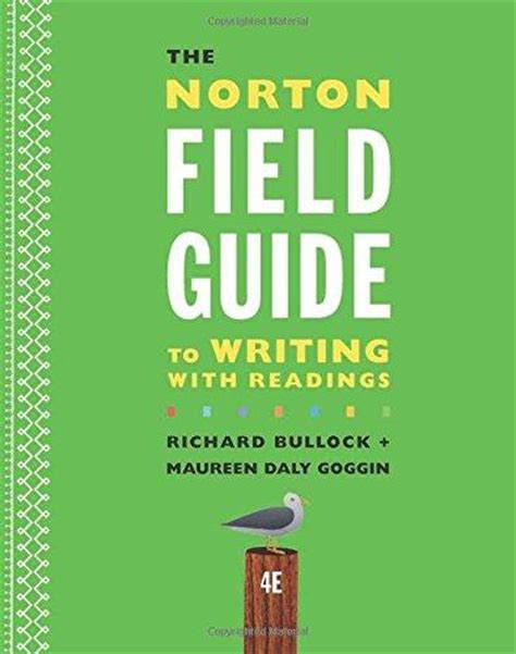 isbn 9780393264371 the norton field guide to writing