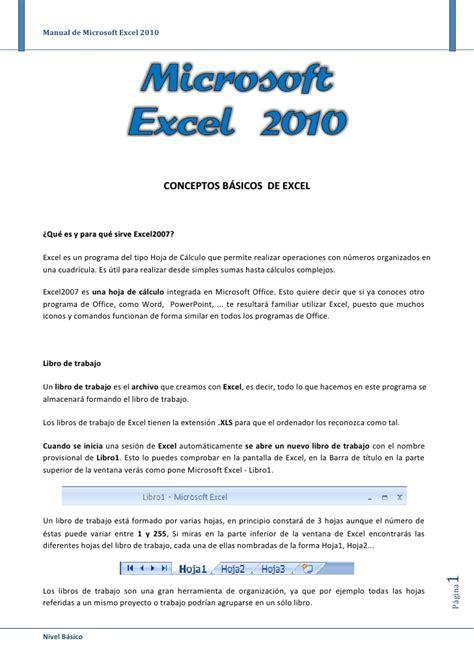 manual microsoft excel 2010 pdf manual de office excel 2010