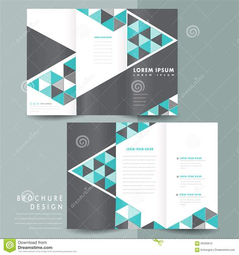 template brochure design professional sles templates