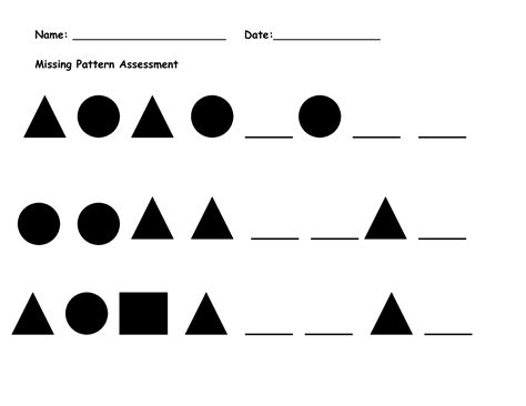 abc pattern for kindergarten printable abc pattern worksheets pattern worksheets and