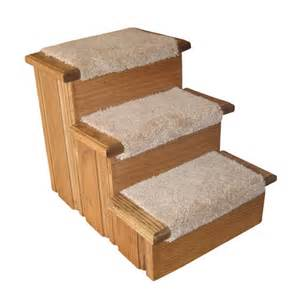 Premier pet steps raised panel 3 step pet stair