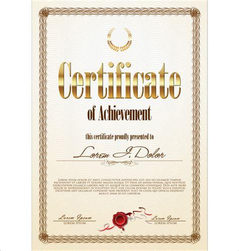 creative certificate templates modern certificate creative template vector free vector in