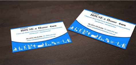 Home Improvement Business Card Ideas