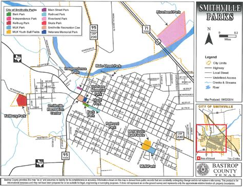 smithville texas map the city of smithville texas official website