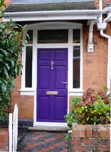 Front Door Colours Ideas Picture Of Purple Front Door Design