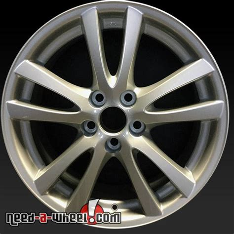 lexus stock rims 18 quot lexus is wheels oem is250 is350 06 08 silver stock