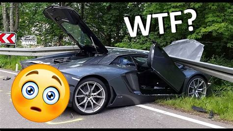 300 Km H Lamborghini Crash by Insane Idiot Drivers Crazy Lamborghini Crash At 300 Km H