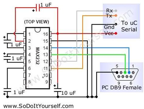 purpose of capacitor in circuit max232 circuit what is the purpose of the capacitors electrical engineering stack exchange