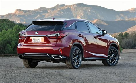 red lexus 2018 2018 lexus f sport rx new car release date and review