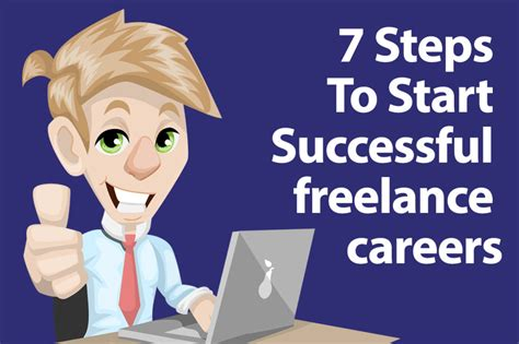7 Tips For A Successful Freelancing Career by 7 Steps To Start Successful Freelance Careers Web