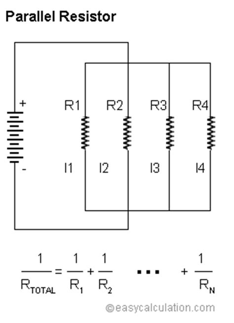 parallel resistor calculator   calculate parallel