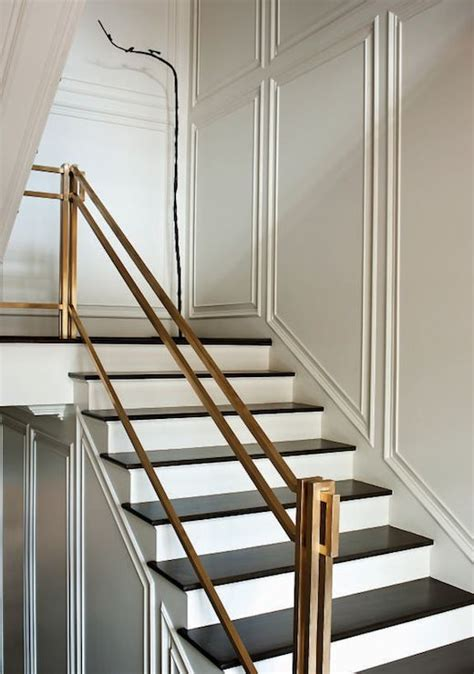 railing banister 30 stylish staircase handrail ideas to get inspired digsdigs