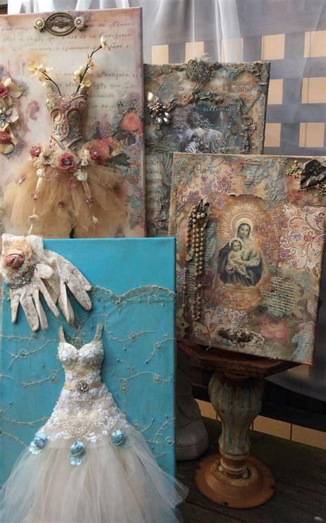 Decoupage Collage Ideas - 17 best ideas about decoupage canvas on