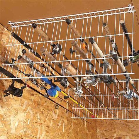 Fishing Pole Garage Storage Ideas 16 Brilliant Diy Garage Organization Ideas