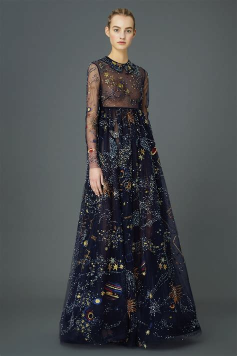 Your Budget With These Con Galaxy Style Dresses by Valentino Pre Fall 2015 Collection Beautiful Space Dresses